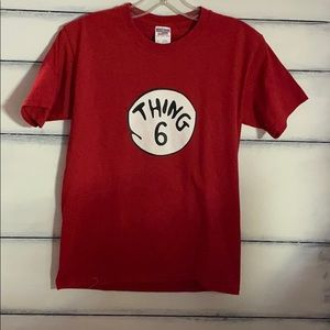 JERZEES Thing 6 t-shirt.